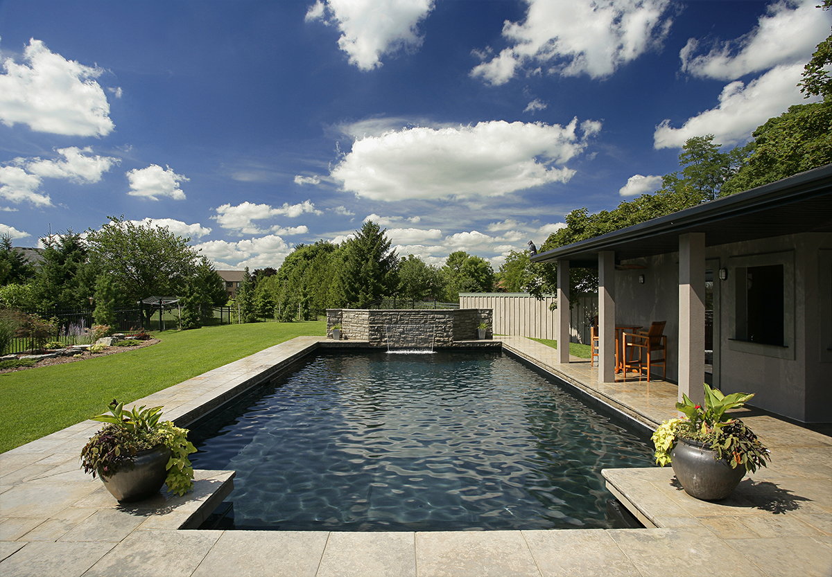 Toronto architectural photographer. Toronto commercial photographer. Swimming pool photography